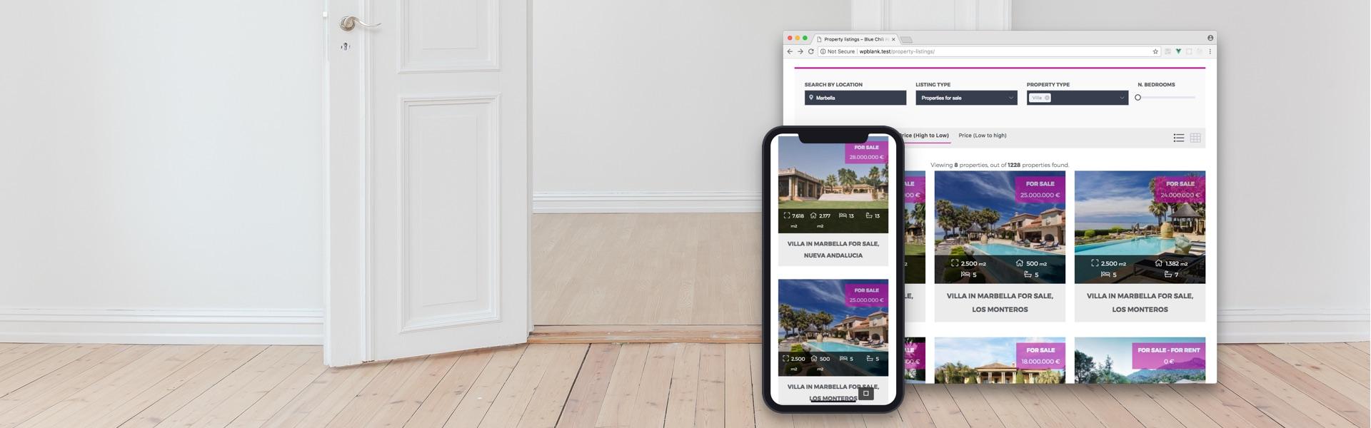Plugin de Inmobiliaria para WordPress gratuito